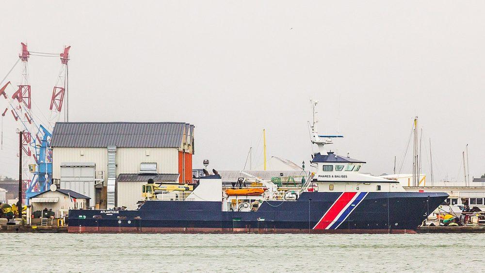 Service vessels Atlantique - IMO 9305817 - Saint-Nazaire